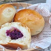 #太阳风烘焙#长帝CR32KEA--紫薯小餐包