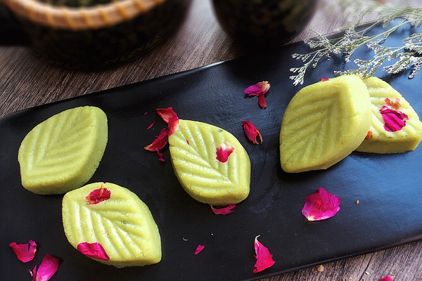 抹茶绿豆糕#发现粗食之美#的做法