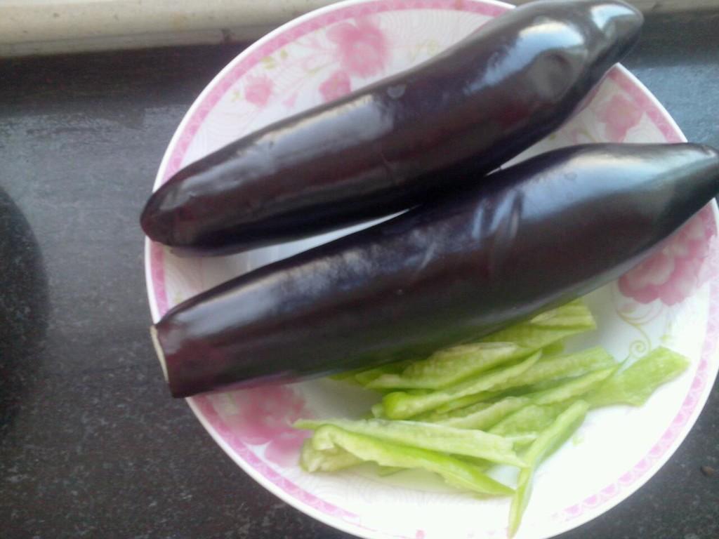 粘土茄子的做法图解