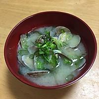 花蛤酱汤--あさりの味噌汁