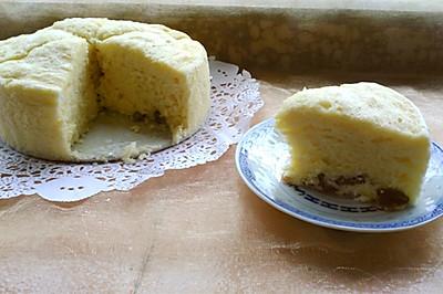 软棉棉的蒸蛋糕
