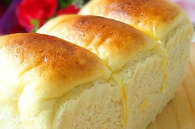 奶油白土司