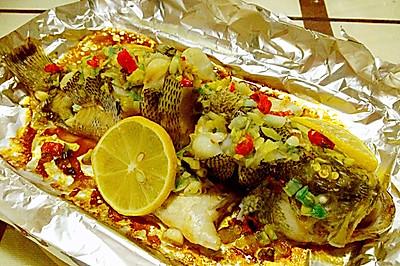 泰式柠檬烤鱼