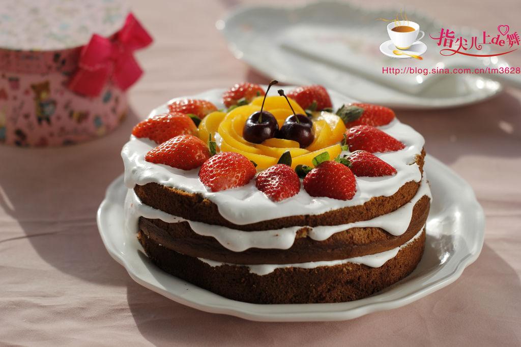 水果裸蛋糕#松下烘焙魔法学院