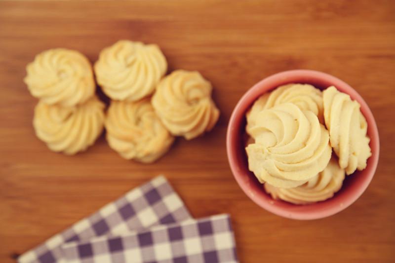 奶酪蛋白曲奇(烤箱做饼干)的做法图解12