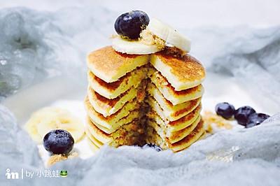 快手早餐香蕉松饼