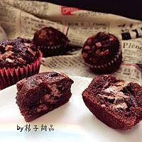 """简单又超级美味的巧克力杯子小蛋糕#享""""美""""味#"""