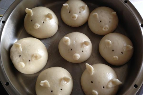 猪猪馒头_转 小猪馒头做法
