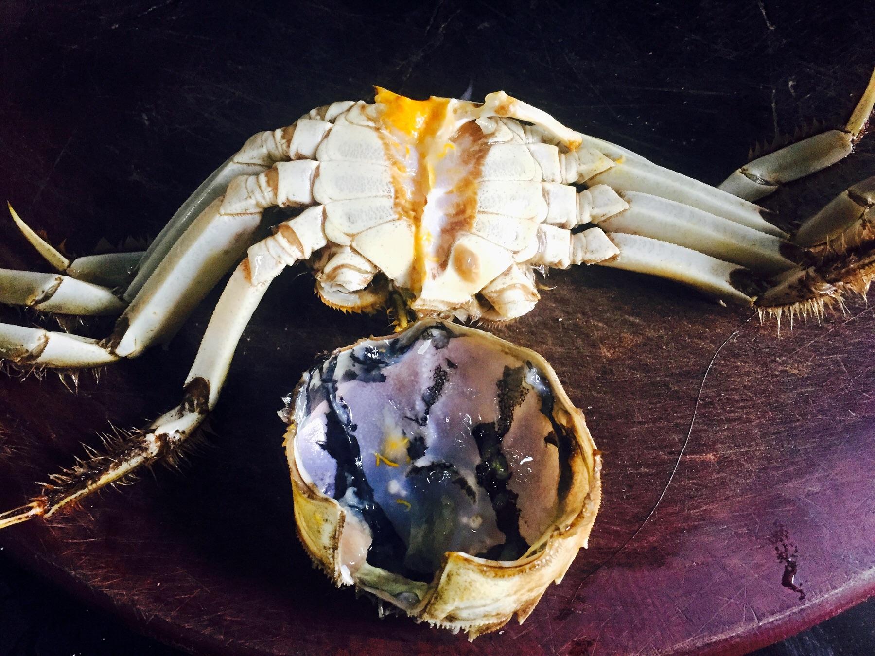 香辣蟹的做法图解2