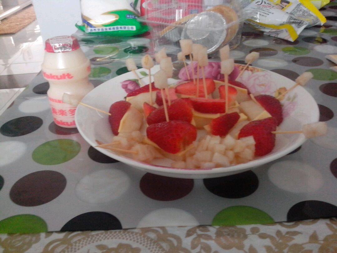 草莓芝士小甜品