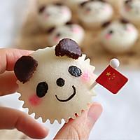 QQ软软熊猫宝宝蒸米糕,宝宝最爱营养早餐