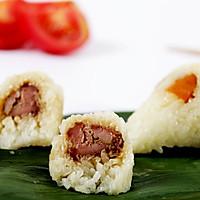 酥嫩爽滑羊肉粽#粽享新意#