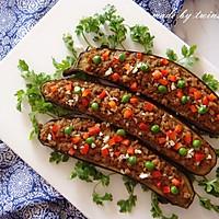 下饭菜 香菇肉末烤茄子