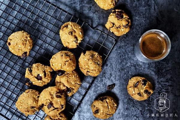 【葡萄蔓越莓饼干】唤起烘焙的初衷的做法