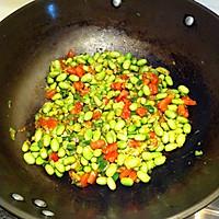 青椒番茄炒毛豆的做法_【图解】青椒番茄炒毛豆怎么做好吃? - 可可 - 可可西里