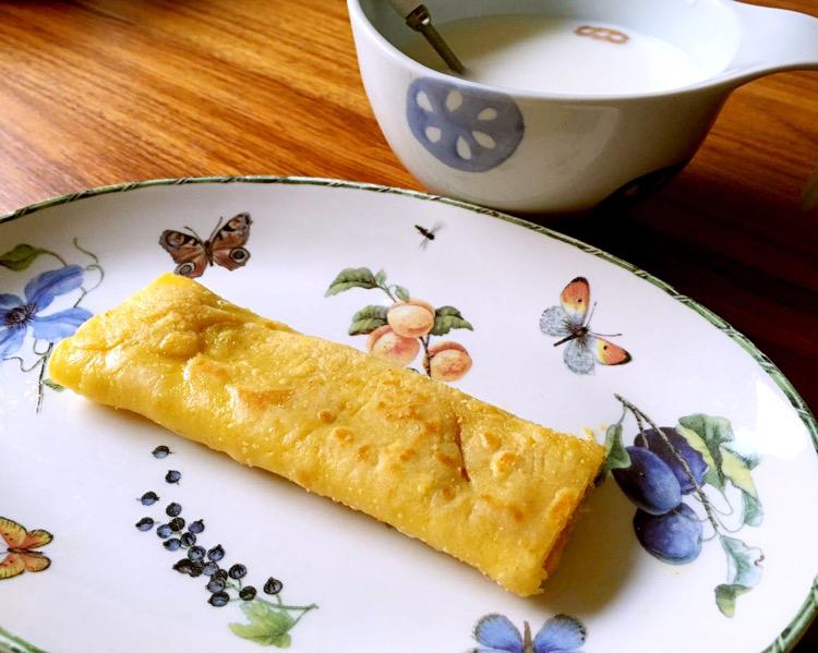 宝宝早餐# 蟹肉鸡蛋卷