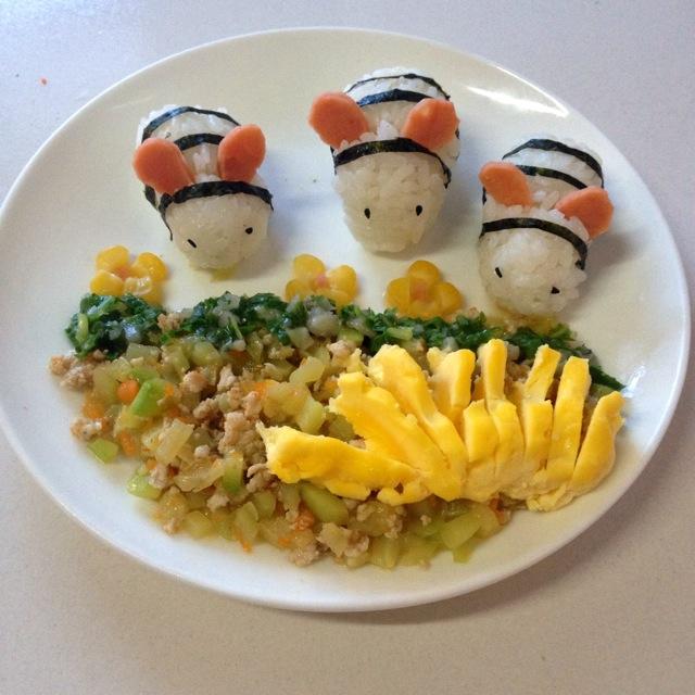 宝宝食谱:小蜜蜂套餐~的做法 !-- 图解3 -->