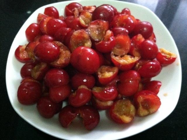樱桃酱的做法步骤