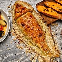 海盐香草面包皮烤全鱼