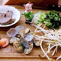 肉燕海鲜牛肉面#一机多能   一席饪选#的做法图解7