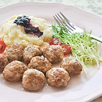 瑞典肉丸#博世红钻家厨#