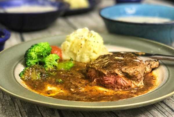 黑胡椒牛排—在家做出饭店的味道