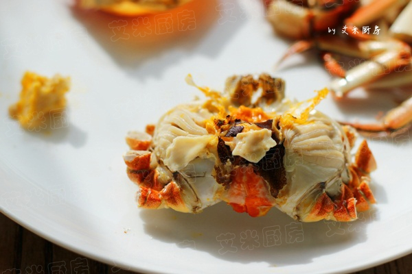 如何吃蟹的方法和图解