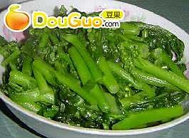 虎年有财——清炒春油菜的做法