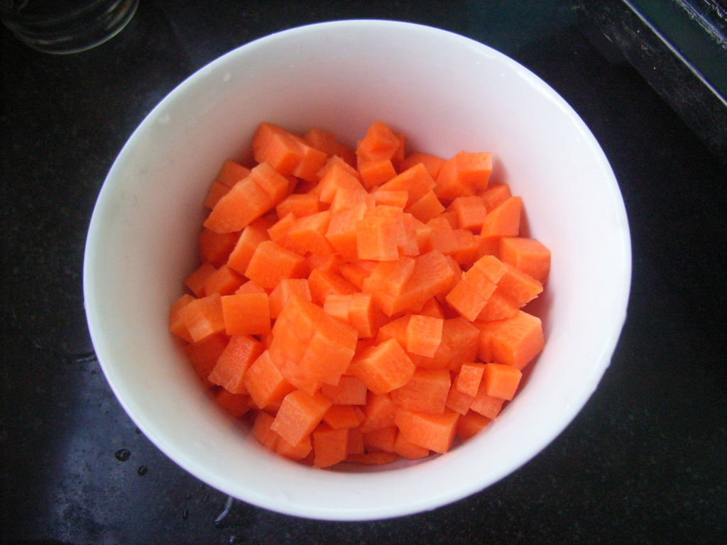 胡萝卜浓汤的做法步骤