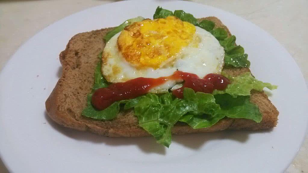 简易早餐的做法 !-- 图解2