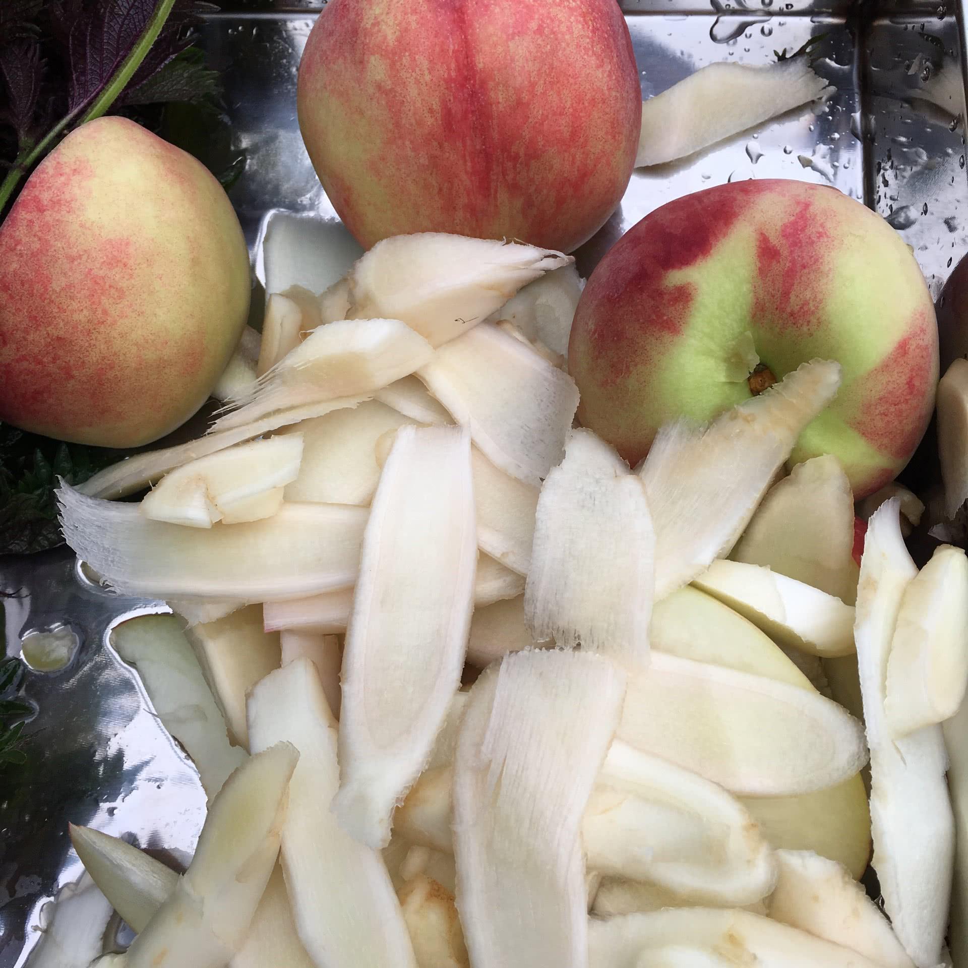 紫苏桃子姜的做法步骤