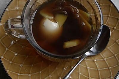 桂圆红糖姜汁煮鸡蛋