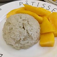椰浆芒果糯米饭的做法图解6