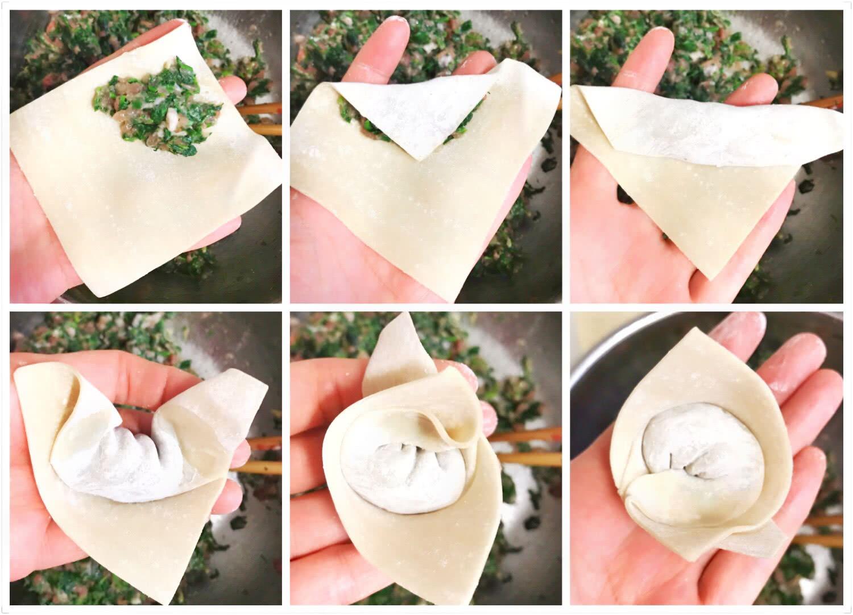 三角包花束的包法步骤
