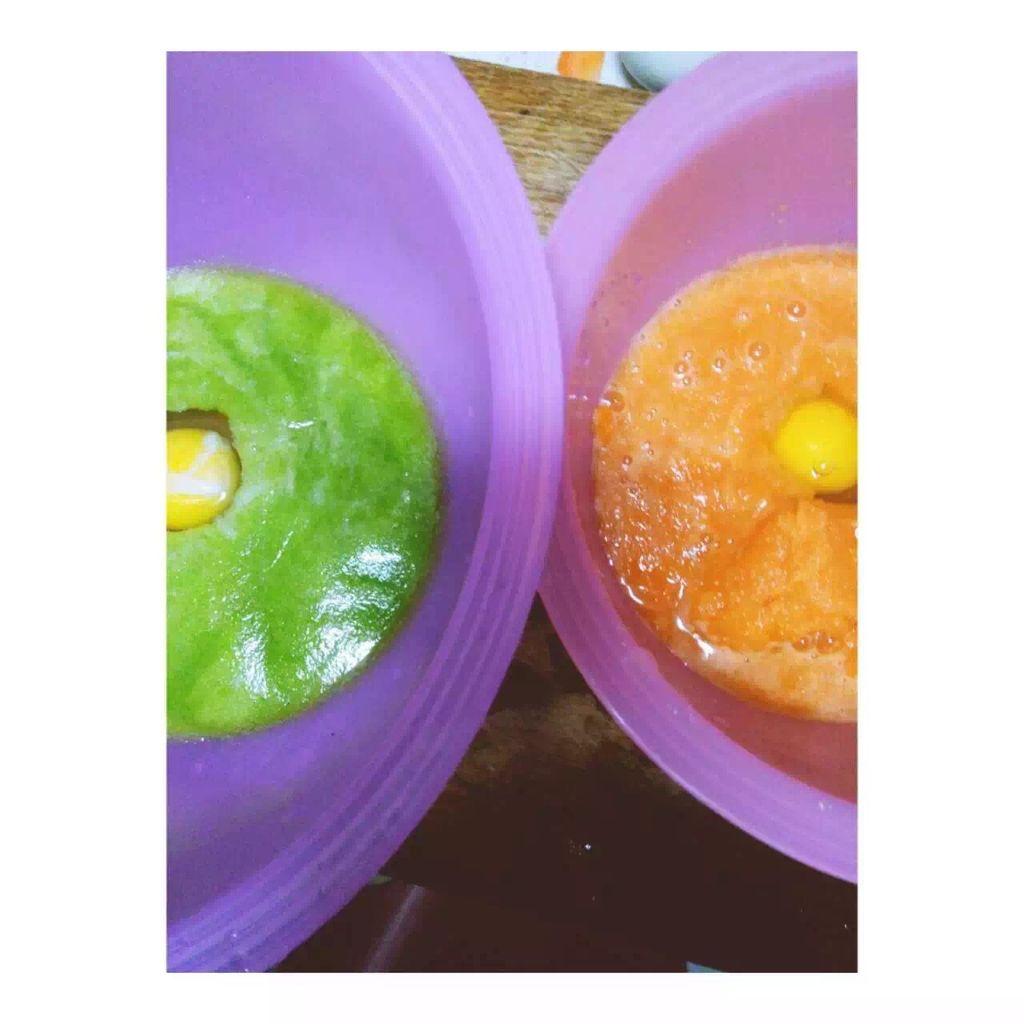 早餐彩色面条#ergochef原汁机食谱