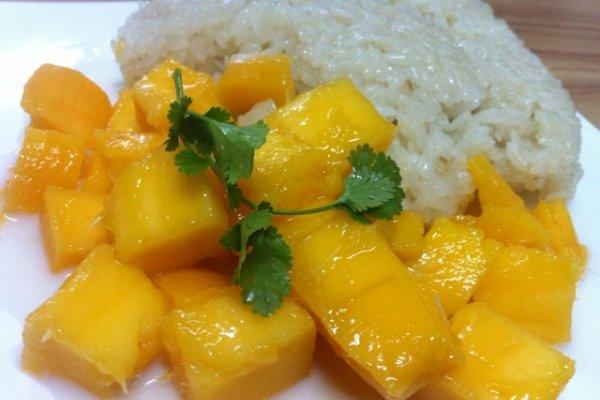 芒果糯米饭的做法