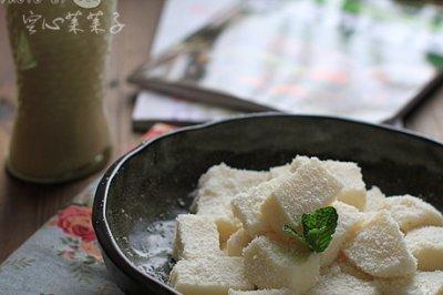 【纯素椰香豆浆冻】——素甜点美味不打折