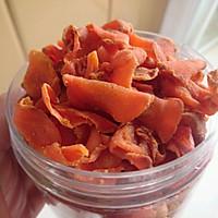 小朋友的健康零食---自制胡萝卜糖