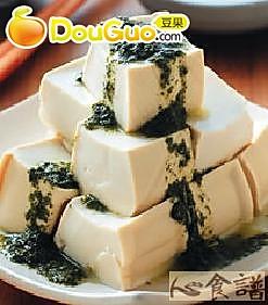椿芽拌豆腐的做法
