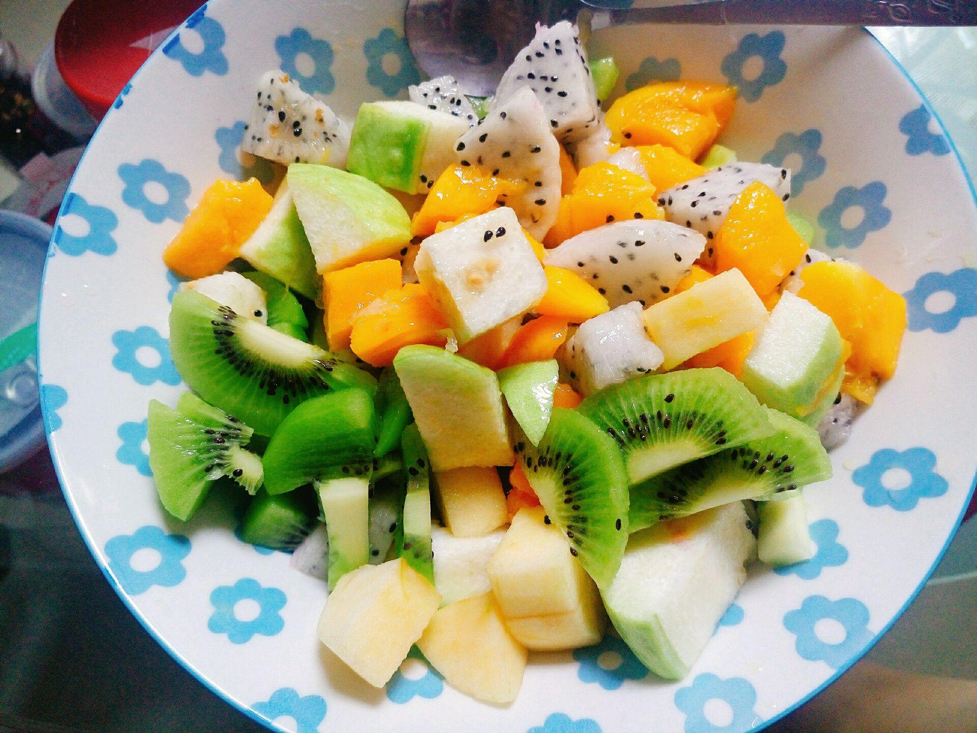 减肥水果沙拉的做法步骤