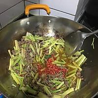 快炒芹菜牛肉丝的做法图解4