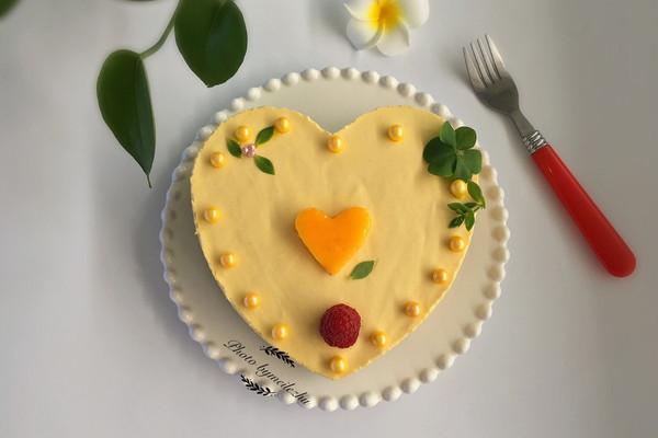 免烤芒果慕斯蛋糕的做法