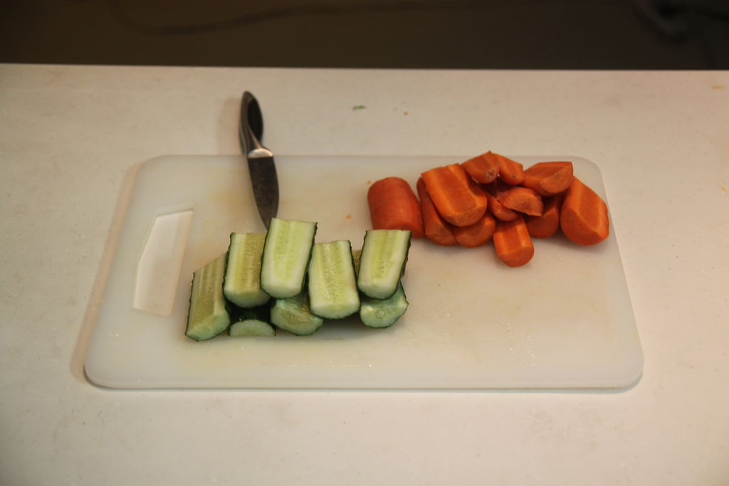 养颜青瓜胡萝卜汁制作方法