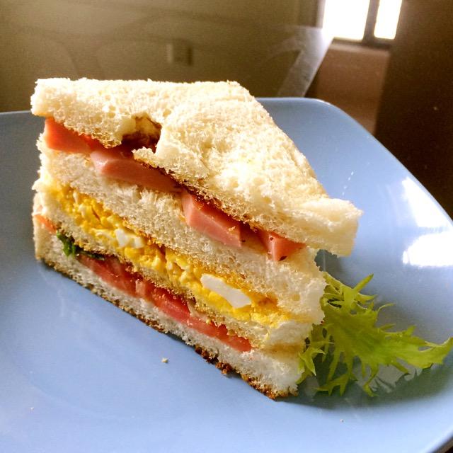 三明治的做法_【图解】三明治怎么做好吃_babysomi