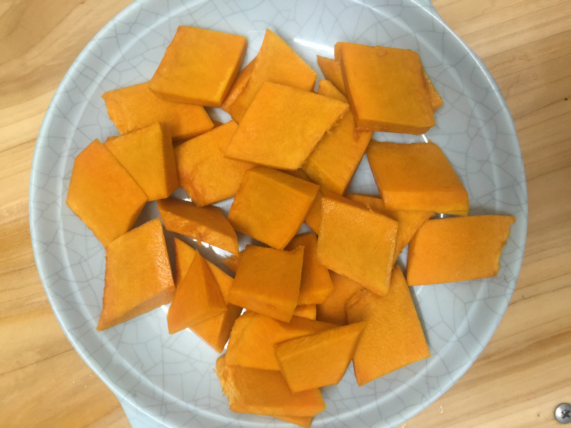 咸蛋黄焗南瓜的做法图解5