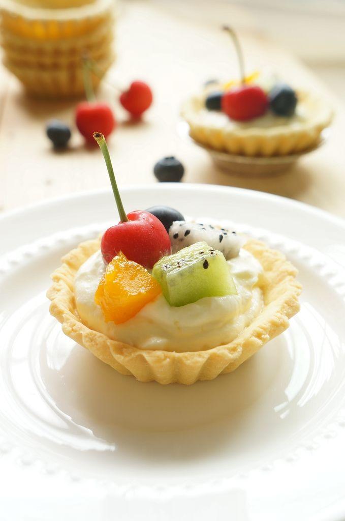清甜水果塔的做法_【图解】清甜水果塔怎么做如何做