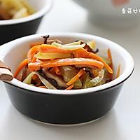 香菇素炒双丝