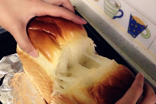 松下面包机版超软牛奶吐司的做法