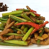 肉炒蒜苔#厨此之外,锦享美味#