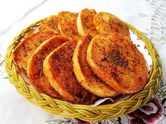 九阳烘焙剧场#孜然烤香酥馍馍的做法_【图解】#九阳